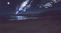 Find images and videos about gif, anime and 5 centimeters per second on We Heart It - the app to get lost in what you love. Aesthetic Space, Aesthetic Gif, Anime Gifs, Anime Art, Shy Gif, Casa Anime, Animation, Anime Scenery, Pixel Art