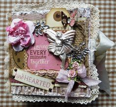 Scrapsels from Lean: Kind Hearted made with Authentique ...workshop kit scrapdelight
