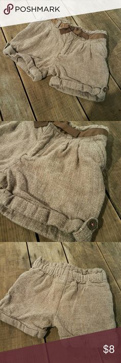 🐙 Page Boy Shorts Brown and cream shorts. Gently used. No stains or tears.  Add 2 or more items from my closet into a BUNDLE and SAVE!!! OSHKOSH Bottoms Shorts