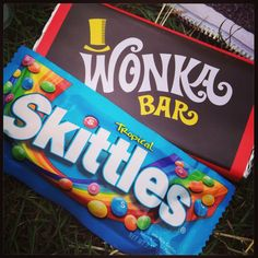 American Candy ❤ Tropical Skittles & Wonka Bar