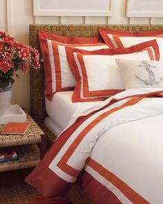 Two-Tone Border Bedding, Sale