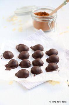 chocolade kruidnootjes van havermout