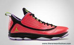 Discounts Jordan CP3.VI AE 580580-609 Bright Crimson Electric Green-Black-Violet Pop