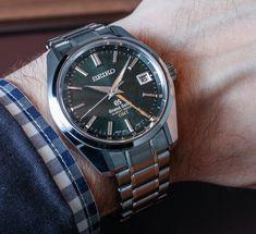 Grand Seiko Hi-Beat 36,000 GMT Watch Hands-On - $7K
