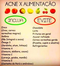 melhores alimentos para acabar com as espinhas Beauty Hacks Eyelashes, Beauty Makeup Tips, Beauty Secrets, Beauty Care, Beauty Skin, Diy Beauty, Homemade Skin Care, Diy Skin Care, Skin Care Tips