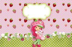 Imágenes de Frutillitas para etiquetas candy bar stickers tarjetas invitaciones de cumpleaños 1