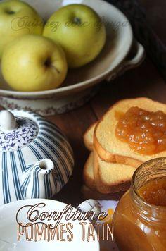 Confiture de pomme à l'ancienne façon tatin