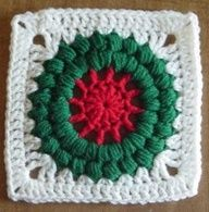 Grannies christmas wreath free pattern. Just lovely, thanks so for the share xox