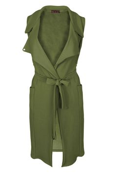 Samantha's Womens Celeb Crepe Waistcoat Sleeveless Long Blazer Belted Cape Stylish Cardigan: Amazon.co.uk: Clothing More Clothing, Shoes & Jewelry - Women - women's belts - http://amzn.to/2kwF6LI