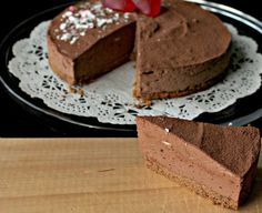 Sabor en cristal: Tarta de mousse de chocolate