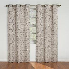 Eclipse Curtains Meridian Blackout Window Curtain Panel
