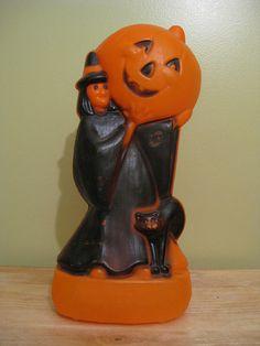 vintage halloween blowmolds - Bing Images
