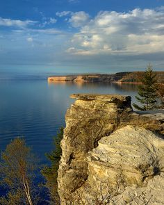 """Born Free"" - (Miners Castle) , Pictured Rocks National Lakeshore , Munising, Michigan by Michigan Nut, via Flickr"