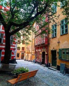 """lauraashleyblog: """" #stockholm #sweden (at Under Kastanjen) """""""