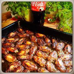 Edel's Mat & Vin : Kyllingvinger bakt i Coca Cola !!