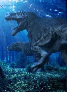Apex: Boss - Tyrannosaurus by Herschel-Hoffmeyer