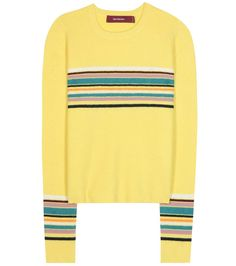 mytheresa.com - Striped alpaca and cashmere sweater - Luxury Fashion for Women / Designer clothing, shoes, bags