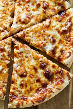 Classic Thin Crust Three Cheese Pizza