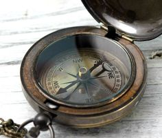 Compass Antique Finish Reproduced Ship par CoughingCowNChicken