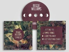Album art for Reggie Williams, www.reggiewilliams.bandcamp.com