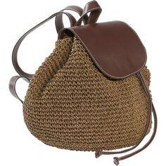 Crochet Toyo Backpack - straw bag - Cappelli