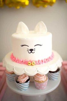 Kitty Cat Birthday Party | karaspartyideas.com | Bloglovin'