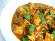 Garlic chicken curry recipe: Try this Garlic chicken curry recipe, or contribute your own. New Chicken Recipes, Spicy Recipes, Curry Recipes, Cooking Recipes, Healthy Recipes, Chicken Meals, Indian Recipes In Hindi, Indian Food Recipes, Asian Recipes