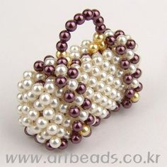 Beaded Purse PATTERN easy to follow pictures artbeads