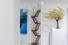 Glass Vase, Art Gallery, Shelves, Home Decor, Art Museum, Shelving, Decoration Home, Room Decor, Shelving Units