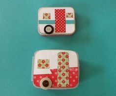DIY Teeny Tiny Trailer Tin Boxes -- use for the hundreds of empty altoid tins in our basement?