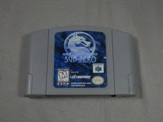 Mortal Kombat Mythologies: Sub-Zero Nintendo 64, N64 Game Cartridge ONLY by WesternKyRustic on Etsy