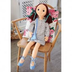 FREE Rebecca Rag Doll - Sewing Instructions