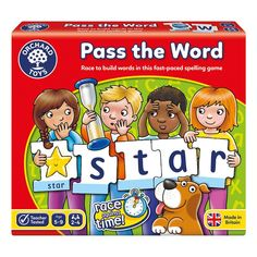 Pass the Word Game