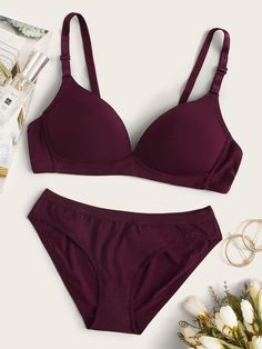 Pretty Lingerie, Bra Lingerie, Women Lingerie, Bra And Underwear Sets, Bra And Panty Sets, Buy Lingerie Online, Cute Bras, Girl Outfits, Fashion Outfits