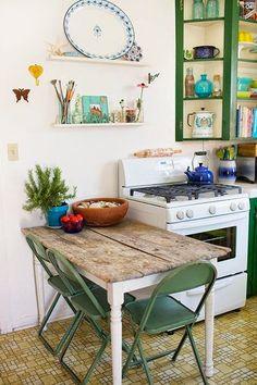 Tραπέζια για μικρές ΚΟΥΖΙΝΕΣ | ΣΟΥΛΟΥΠΩΣΕ ΤΟ