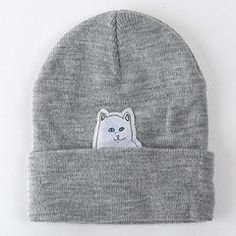 565bfb4f1 10 Best Cat Hats, Skullcaps & Beanies images in 2017 | Beanie hats ...