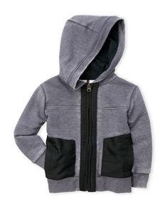 Kardashian Kids (Newborn/Infant Boys) Full-Zip Moto Hoodie