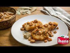 #Merluza con #gambas. Un plato rápido, fácil y riquísimo. Ideal para el almuerzo o la cena. La #receta, en nuestro blog.
