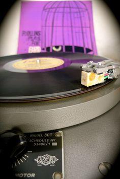 Koetsu Coral Stone cartridge with Shondo Platter and bearing on an Audio Grail Garrard 301 Turntable