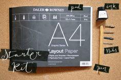 Calligraphy Starter Kit! #modernmagnolia #modernmagnolias