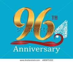 96th golden anniversary logo with white indonesia shadow puppet ornament