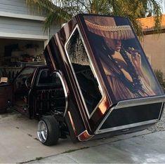 Arte Lowrider, Lowrider Trucks, Lowrider Bike, Nissan Trucks, Chevy Trucks, Pickup Trucks, Dropped Trucks, Lowered Trucks, Custom Trucks