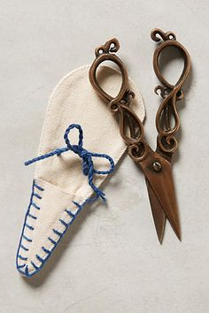 Tailoress Scissors #anthropologie