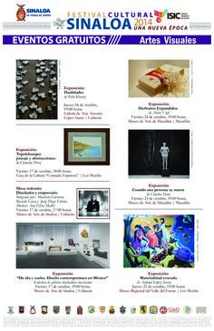 Artes Visuales en el marco del Festival Cultural Sinaloa 2014
