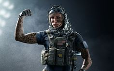 Rainbow Six Siege Valkyrie 5K - This HD  wallpaper is based on Rainbow Six: Siege N/A. It released on N/A and starring Angela Bassett, Solomon Aron, Martial Audilon, Julian Bailey. The storyline of this Action, Crime, Thriller N/A is about: A team of soldiers from various countries and militaries are recruited into an elite... - http://muviwallpapers.com/rainbow-six-siege-valkyrie-5k.html #5K, #Rainbow, #Siege, #Valkyrie #Games