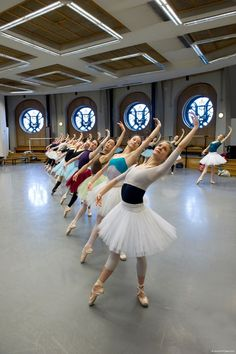 Dancers of the Paris Opera Ballet in rehearsal for Paquita ph. Laurent Philippe  practice | ZsaZsa Bellagio - Like No Other