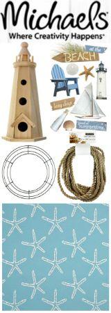 Coastal Craft and DIY Supplies at Michaels