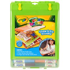 Color wonder studio - another toy for the plane!