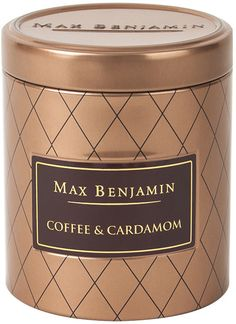 Max Benjamin - Coffee Candle Collection - Coffee & Cardamom - 170g
