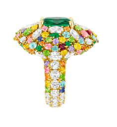 """""""Cher Dior"""" High Jewellery: an explosion of colours by Dior 